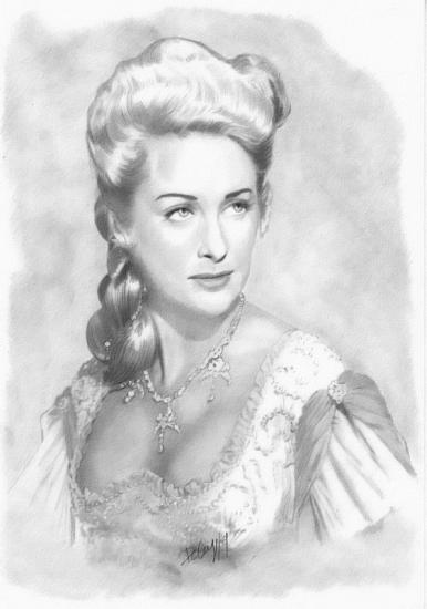 Martine Carol por Deberg